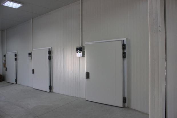 Производствена и хладилна база