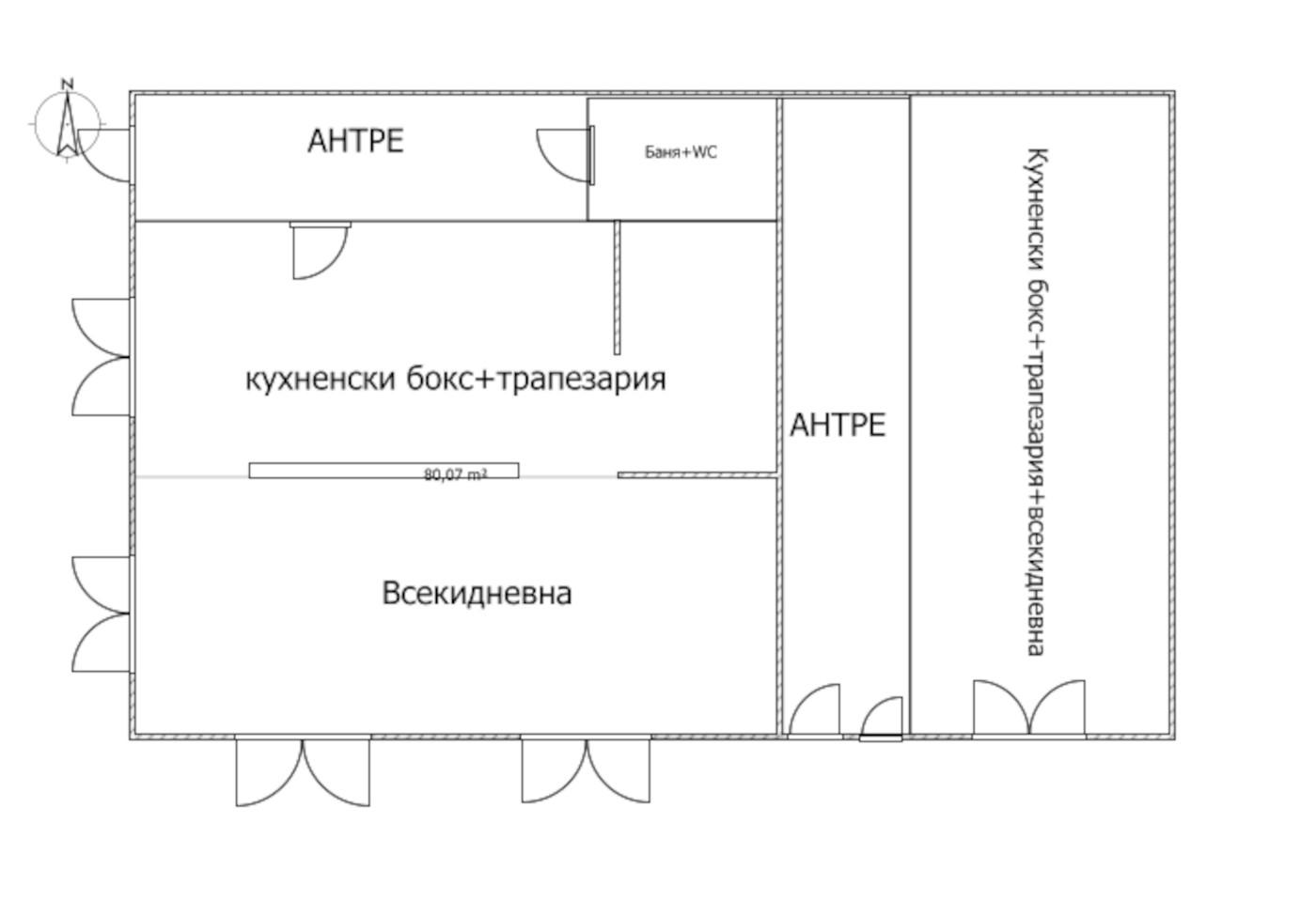 етаж 1