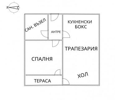 2 - стаен, 71 кв.м, 7 от 10 ет.